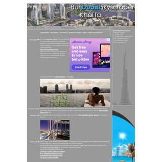 Burj Dubai Skyscraper - Burj Khalifa Photos, Burj Khalifa Videos and other Updates