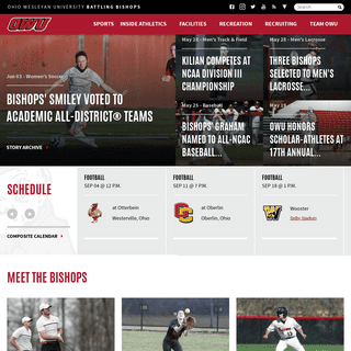 Ohio Wesleyan University Athletics - Official Athletics Website
