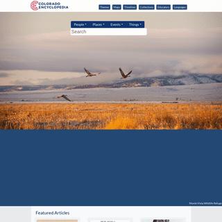 Colorado Encyclopedia