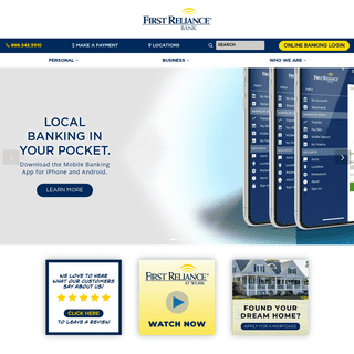 First Reliance Bank - Better Banking in the Carolinas