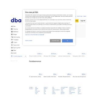 Nyt og brugt, køb og salg på DBA - Danmarks største handelsportal