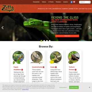Reptile Products & Care Information - Zilla