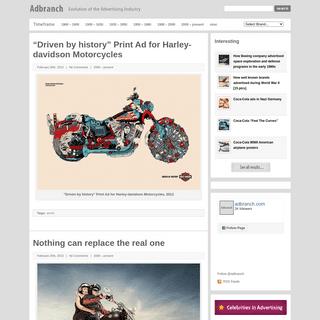 Adbranch - Evolution of advertising industry