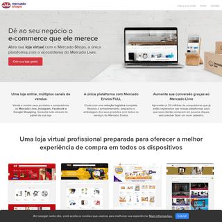 Mercado Shops - Sua loja virtual