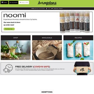 Welcome to Hemptons - Your Hemp and Health Go-To Company