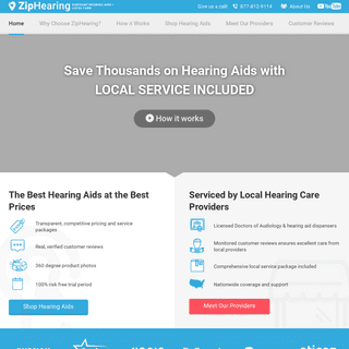Advanced Hearing Aid Solutions at a Low Cost - ZipHearing