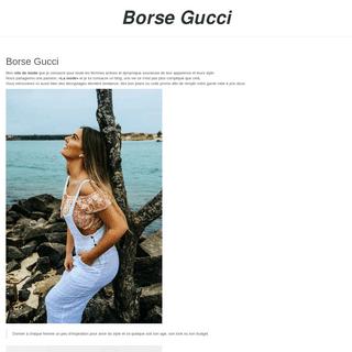 Les conseils de Mode de Borse Gucci