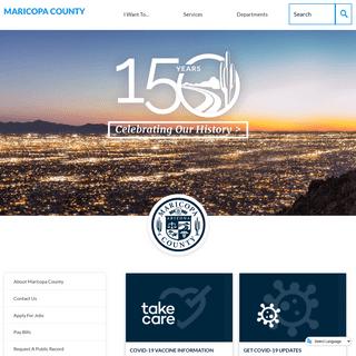 Maricopa County, AZ - Official Website