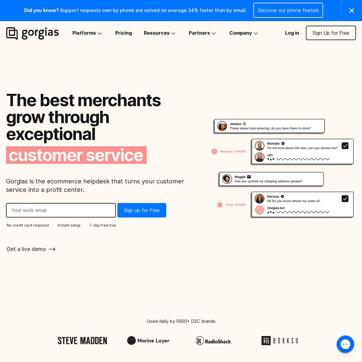 Customer Service Made Easy for Online Stores - Gorgias