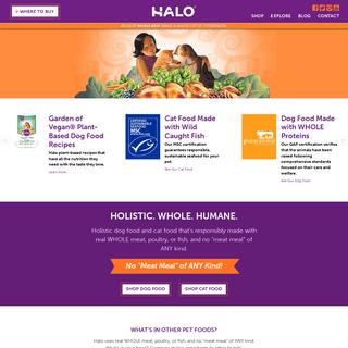 A complete backup of https://halopets.com