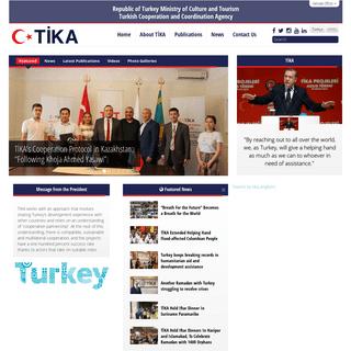 TİKA - Turkish Cooperation and Coordination Agency - TİKA