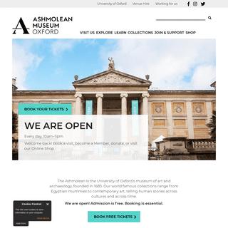 Welcome - Ashmolean Museum