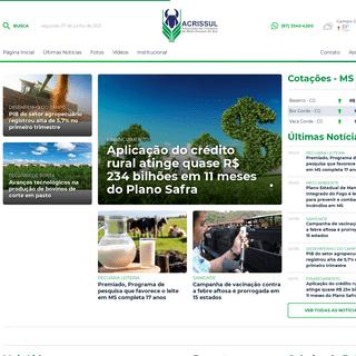 Acrissul - Associação dos Criadores de Mato Grosso do Sul