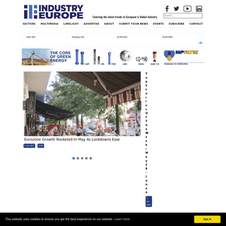 Covering the latest trends in European & Global Industry - Industry Europe