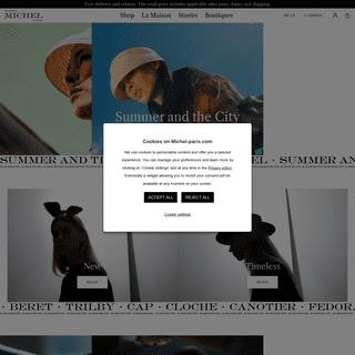 Shop hats & hair accessories - Maison Michel Paris