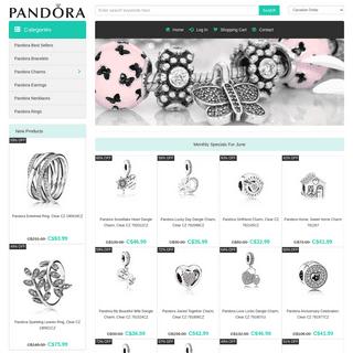 Pandora Canada - Official Pandora Jewelry & Charms For Sale