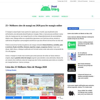 🥇 ▷ 25+ Melhores sites de mangá em 2020 para ler mangás online » ✅