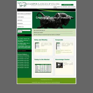 Campos Lanuza & Co. Inc