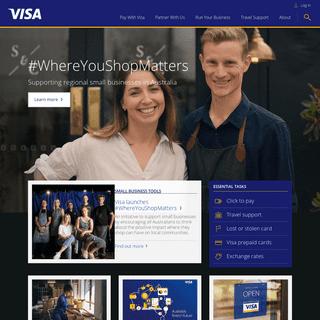 Visa - Leading Global Payment Solutions - Visa