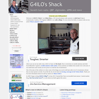 G4ILO`s Shack - Stealth ham radio, QRP, APRS, digimodes and more