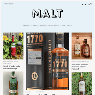 A World Whisky Blog with An Array of Voices