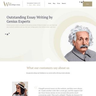 Custom Writing with Genius Paper Writer