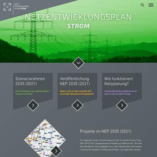 Netzentwicklungsplan Strom - Netzentwicklungsplan