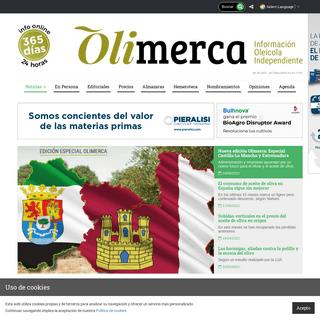 Revista Olimerca. Información de mercados para el sector del Aceite de Oliva y otros aceites vegetales