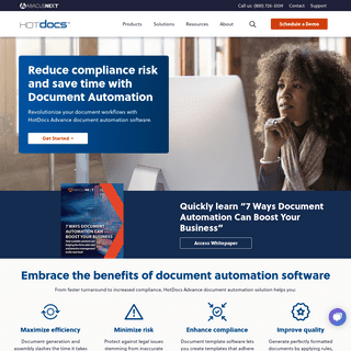 Document Automation Software- Generation & Assembly - HotDocs