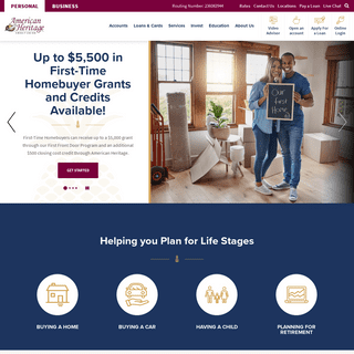 Home - American Heritage Credit Union