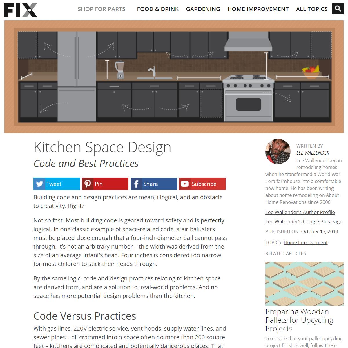Best Practices for Kitchen Space Design - Fix.com