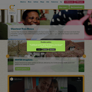 Chestnut Tree House - The children`s hospice for Sussex