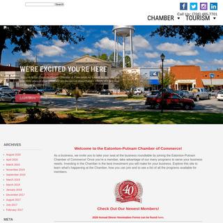 Eatonton-Putnam Chamber of Commerce - Eatonton, Georgia