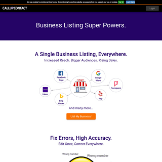 Callupcontact - Business Listing and Local Marketing Service
