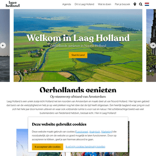 Ontdek Laag Holland I De achtertuin van Amsterdam - Laag Holland