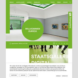 Mitten in Stuttgart- Das größte Kunstmuseum in Baden-Württemberg - Staatsgalerie