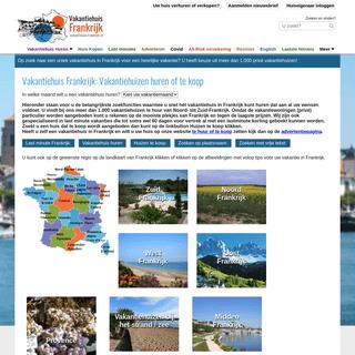 Vakantiehuis Frankrijk- vakantiehuizen in heel Frankrijk