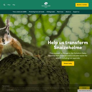 UK`s Largest Woodland Conservation Charity - Woodland Trust