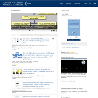 Home Page- Surgery for Obesity and Related Diseases