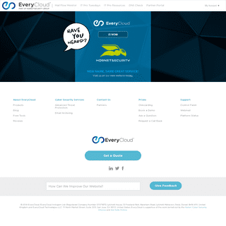 EveryCloud- Highest Rated Spam Filtering & Phishing Simulation
