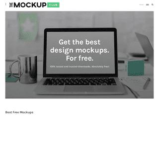 The Mockup Club – Best Free Mockups