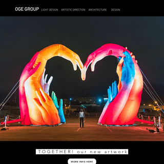 OGE Group - Light design, artdirection, architecture and design
