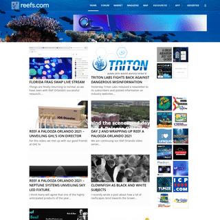 Reefs.com - Saltwater Aquarium Blog - Marine Aquarium Blog