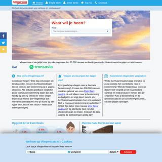 Goedkoop vliegen - Vliegtickets Vergelijken - Vliegennaar.nl