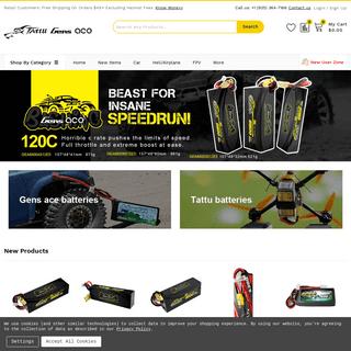 Rc hobby battery &UAV Battery & FPV lipo Battery - Gens ace &Tattu
