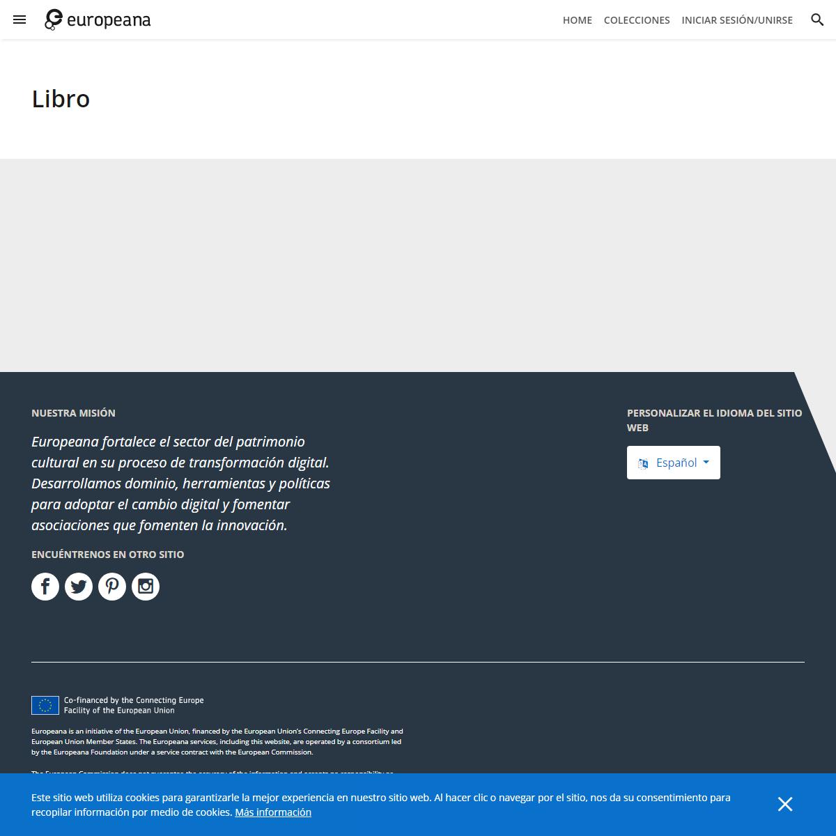 Libro - Europeana