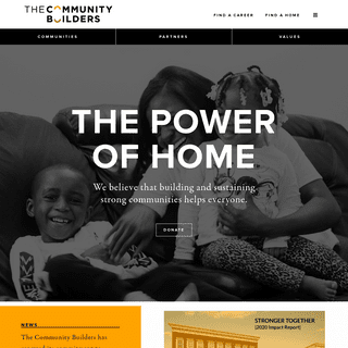 The Power of Home - The Community Builders