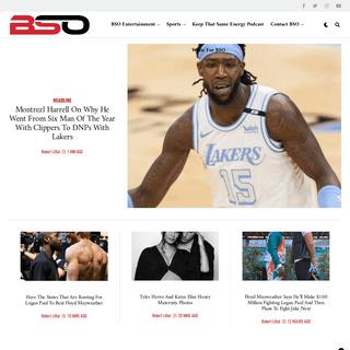BlackSportsOnline - BSO a Unique Take on Sports & Entertainment