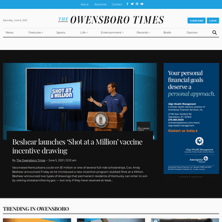 The Owensboro Times - Owensboro`s Daily News Source