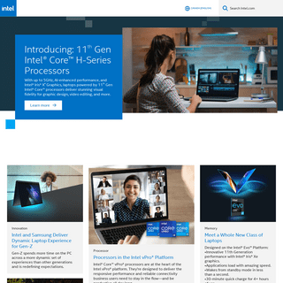Intel - Data Center Solutions, IoT, and PC Innovation
